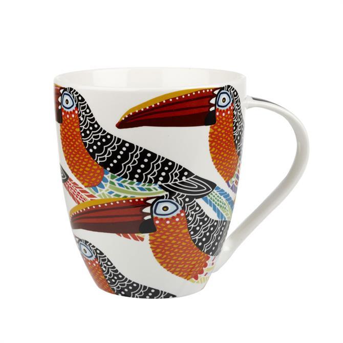 Churchill Paradise Birds Tribal Toucans Crush Mug