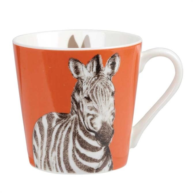 Churchill Couture Kingdom Zebra Mug