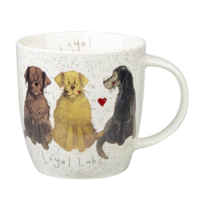 Churchill Alex Clark Delightful Dogs Mug