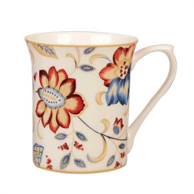 Churchill Jacobean Blue Royale Mug - Assorted