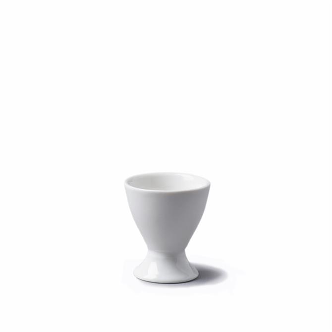 Cks White Porcelain Egg Cup