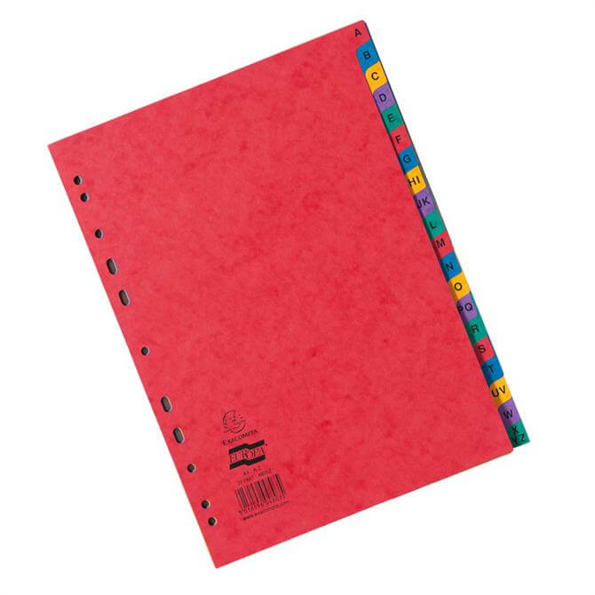 Clairefontaine A-Z Europa Dividers A4