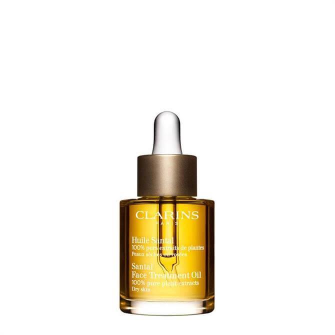 Clarins Santal Face Treatment Oil Dry/Extra Dry Skin 30ml