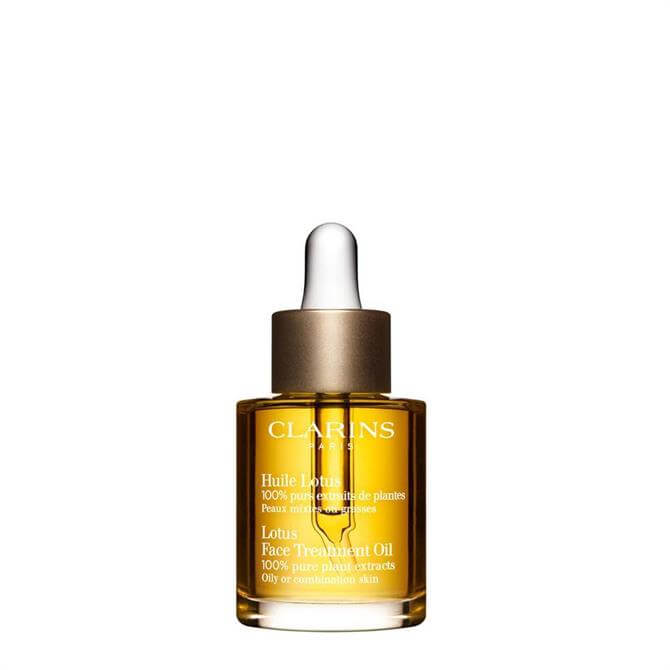 Clarins Lotus Face Treatment Oil Combination Skin/Skin prone to Oiliness 30ml
