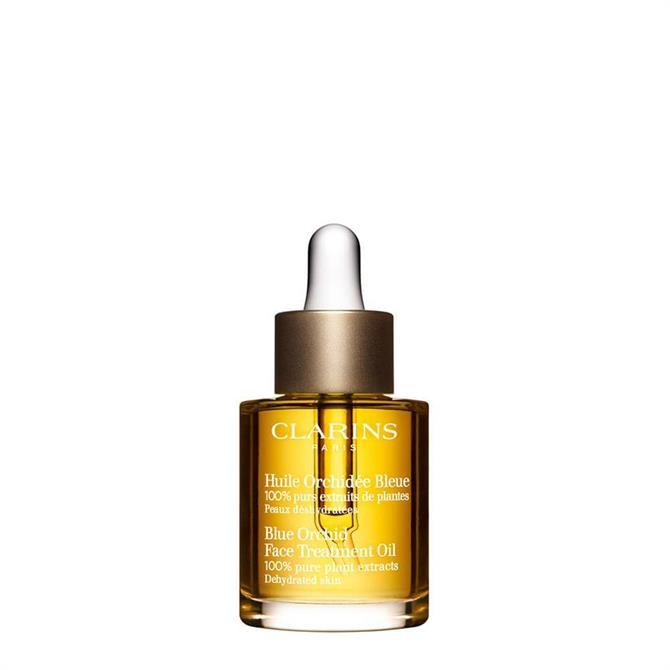 Clarins Blue Orchid Face Treatment Oil Devitalized/Dehydrated Skin 30ml