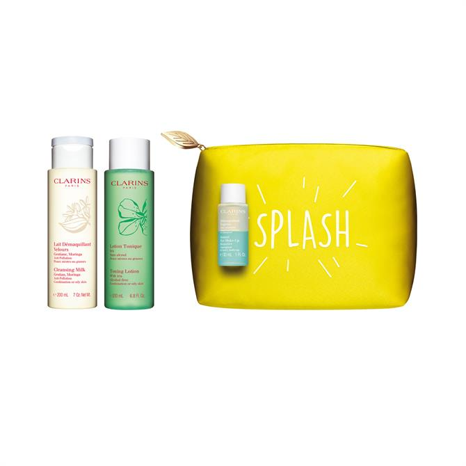 Clarins Perfect Cleansing Value Kit for Combination or Oily Skin x2 200ml