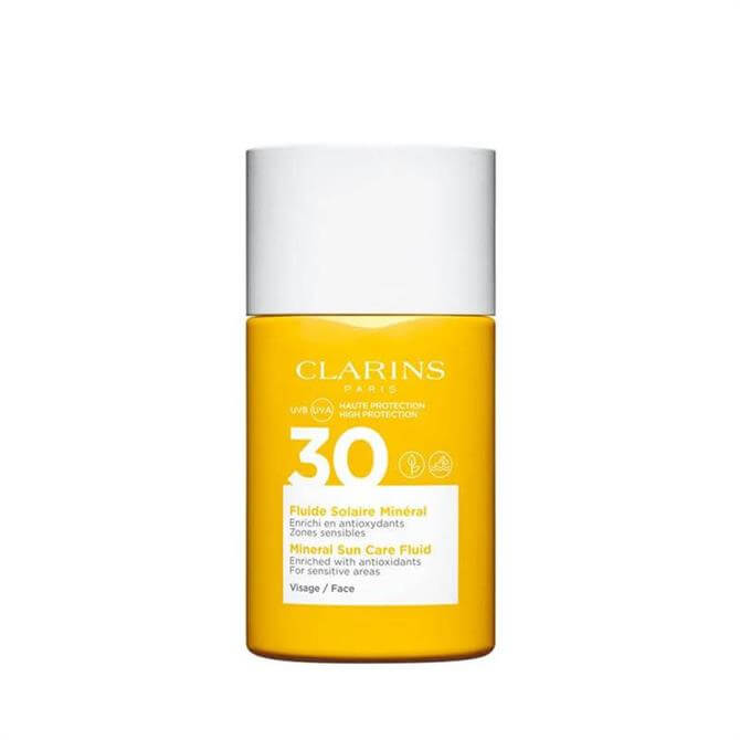 Clarins Mineral Sun Care Fluid UVB/UVA 30 for Face 30ml