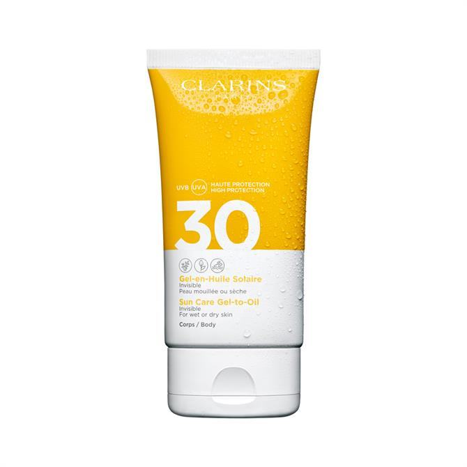 Clarins Sun Care Gel-To-Oil UVB/UVA 30 for Body 150ml