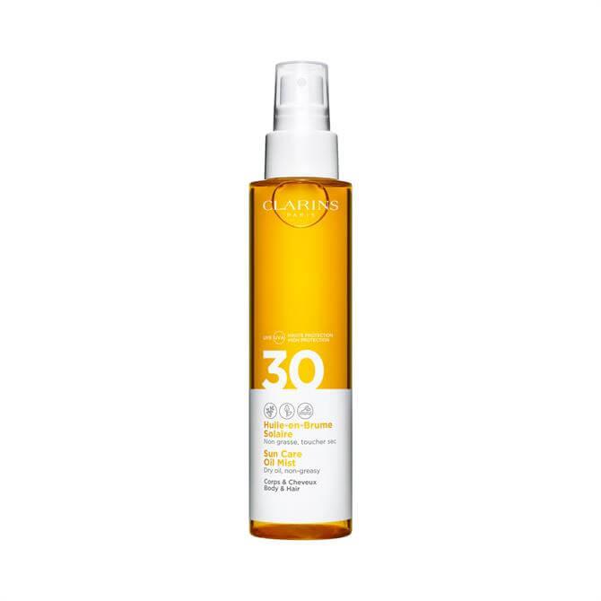 Clarins Sun Care Oil Mist UVB/UVA 30 for Body & Hair 150ml