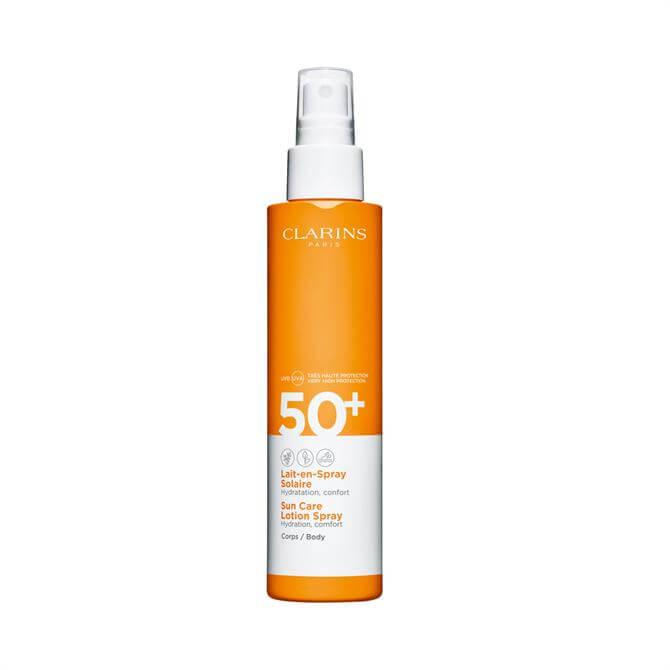 Clarins Sun Care Lotion Spray UVB/UVA 50+ for Body 150ml