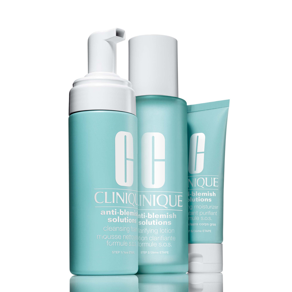 An image of Clinique Anti Blemish Solutions 3 Step System