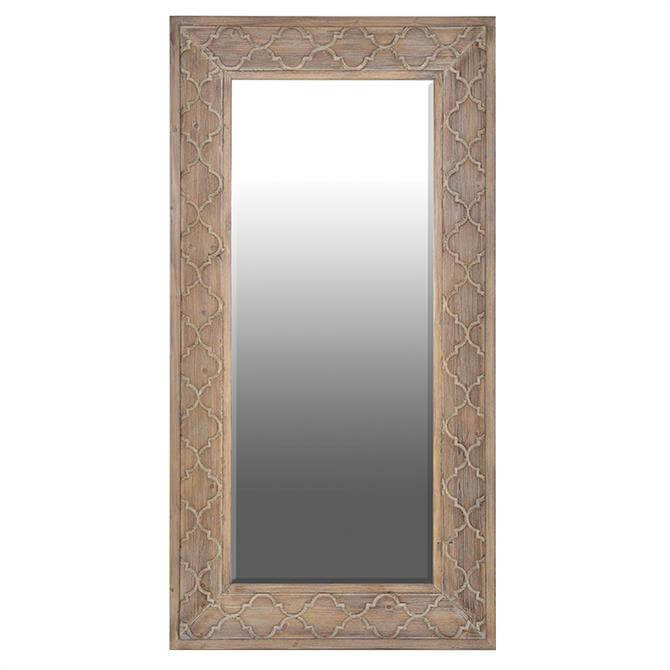 Coach House Carved Wooden Mirror