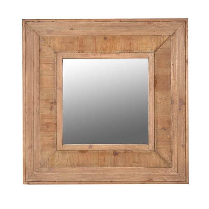 Coach House Medium Wooded Wall Mirror