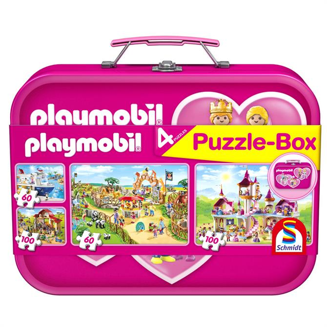 Playmobil 4 Jigsaw Puzzle Keepsake Tin