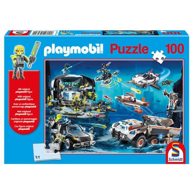 Playmobil Top Agents 100 Piece Puzzle