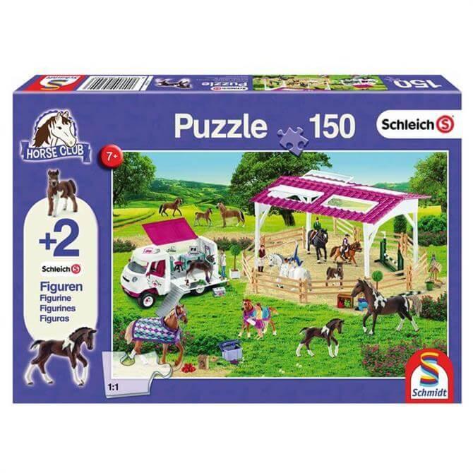 Schleich Riding School Vets Puzzle 150PC