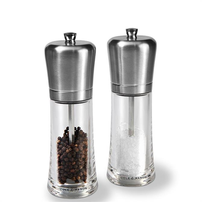 Cole & Mason Sandown 180 Precision Salt & Pepper Gift Set