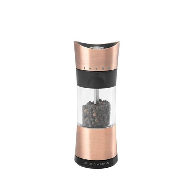 Cole & Mason Inverta Copper Horsham Salt & Pepper Mills 154mm