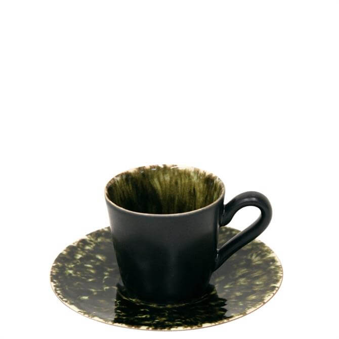 Costa Nova Riviera Forets Coffee Cup & Saucer