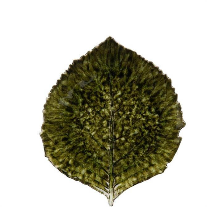 Costa Nova Riviera Forets Hydrangea Leaf Dish