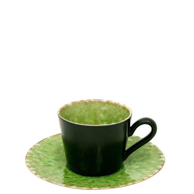 Costa Nova Tomate Tea Cup & Saucer