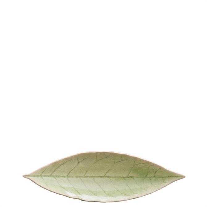 Costa Nova Riviera Vert Frais Laurel Leaf Dish