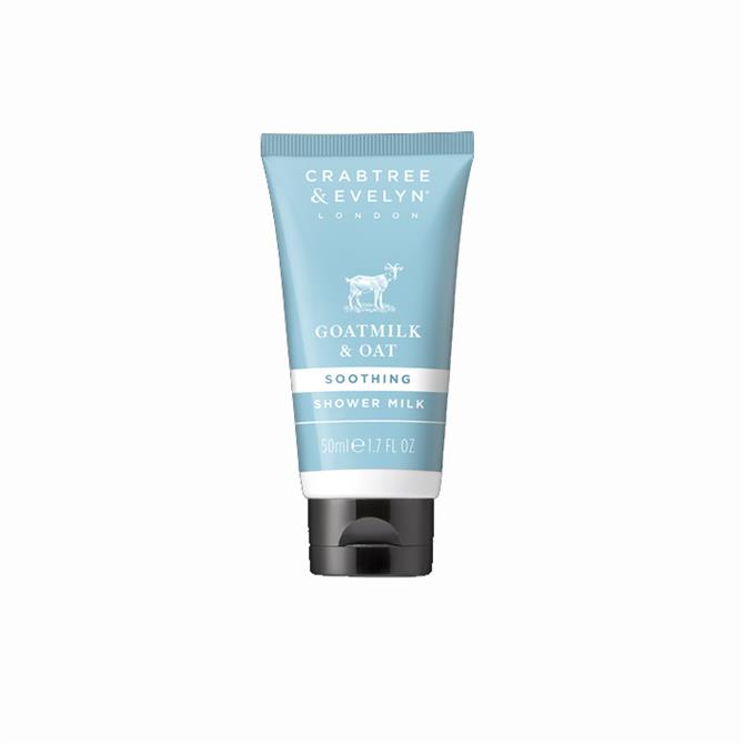 Crabtree & Evelyn Goatmilk & Oat Soothing Shower Milk 50ml