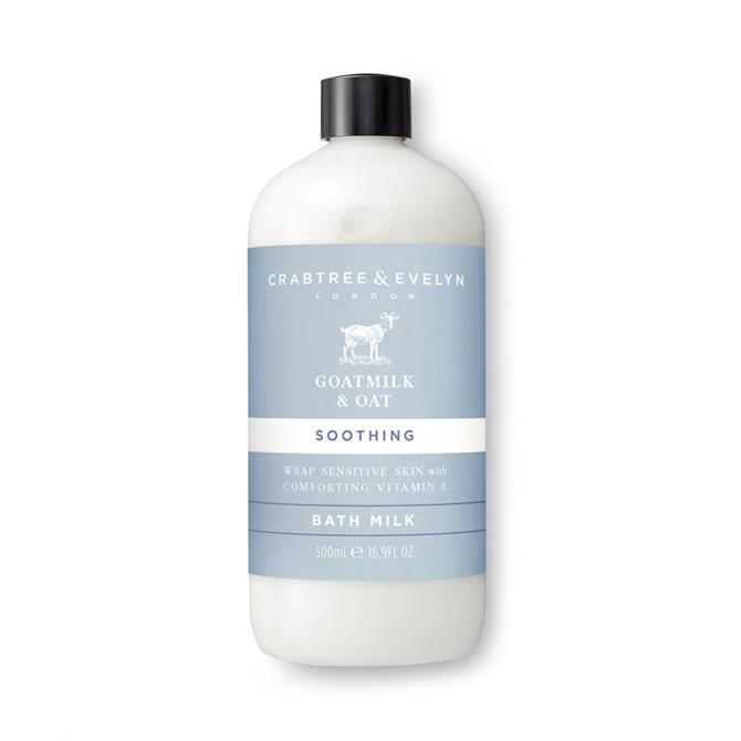 Crabtree & Evelyn Goatmilk & Oat Bath Milk 500ml