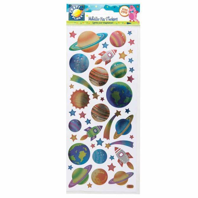 Craft Planet Metallic Stickers