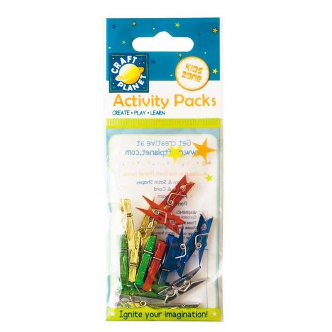 Craft Planet Mini Pegs