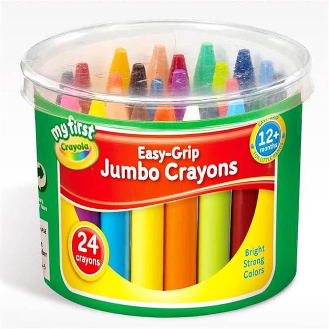 Crayola 24 My 1st Jumbo Crayons