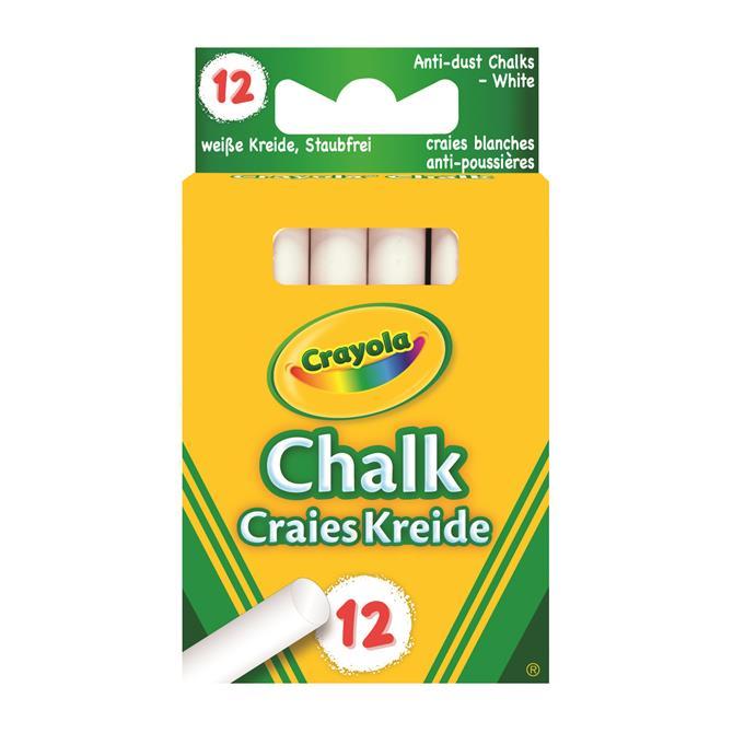 Crayola 12 Anti Dust Chalk