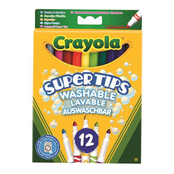 Crayola 12 Bright Supertips