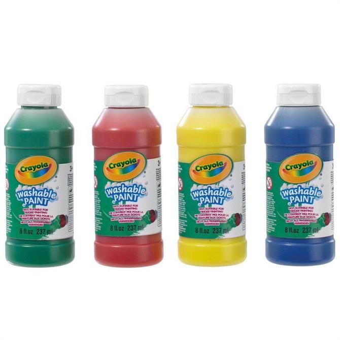 Crayola Washable Paint 4 Pack