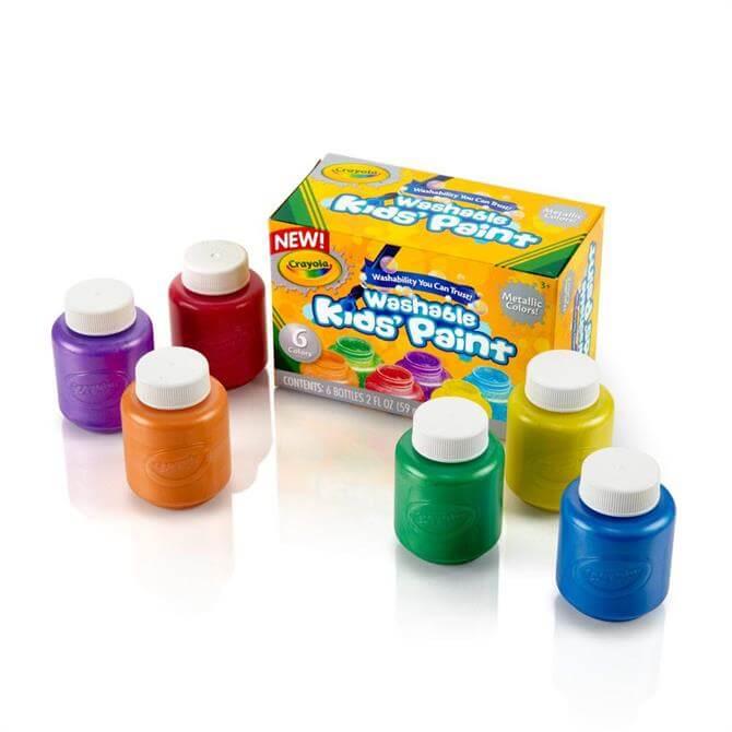 Crayola 6 Metallic Paints