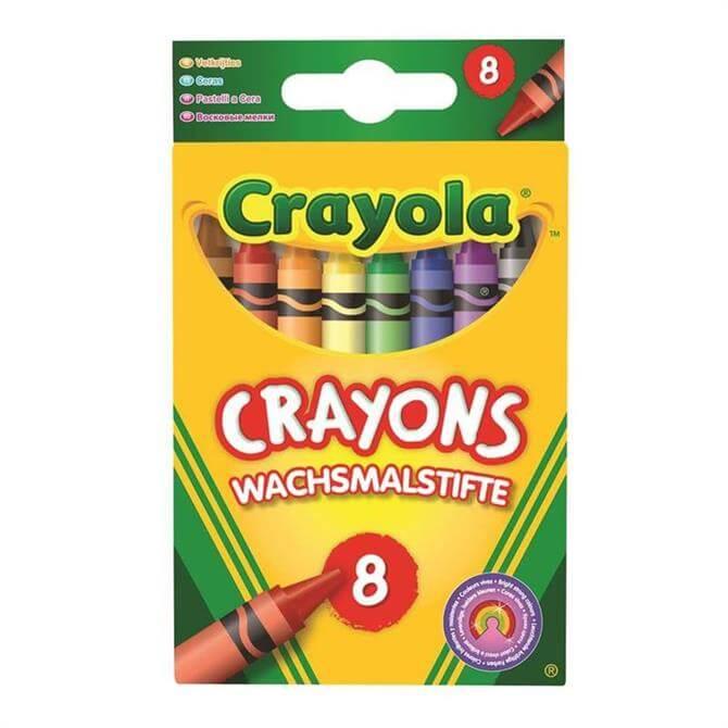 Crayola 8 Assorted Crayons