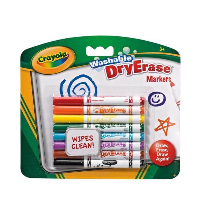 Crayola 8 Dry Erase Washable Markers