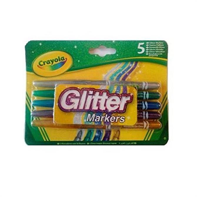 Crayola 5 Glitter Markers