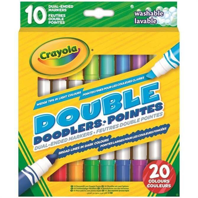 Crayola 10 Double Doodlers