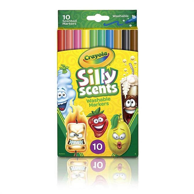 Crayola 10 Silly Scents Slim Markers