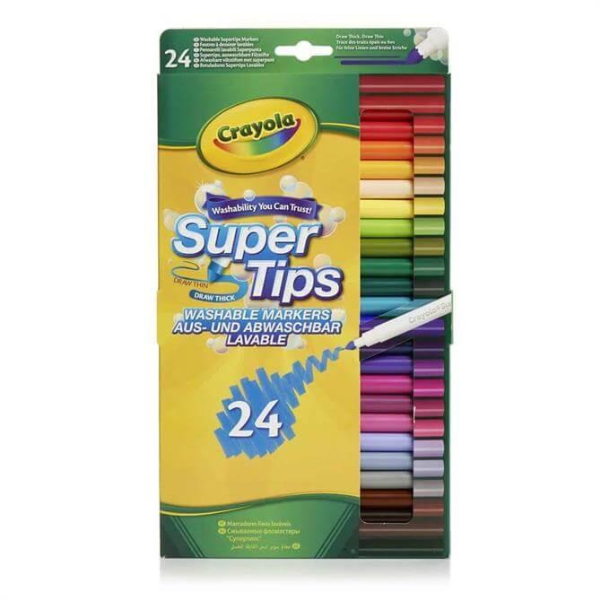Crayola 24 Super Tips