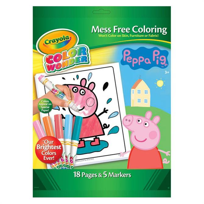 Crayola Peppa Pig Colour Wonder Set