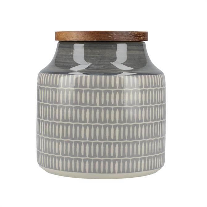 Creative Tops Drift Storage Jar: Grey