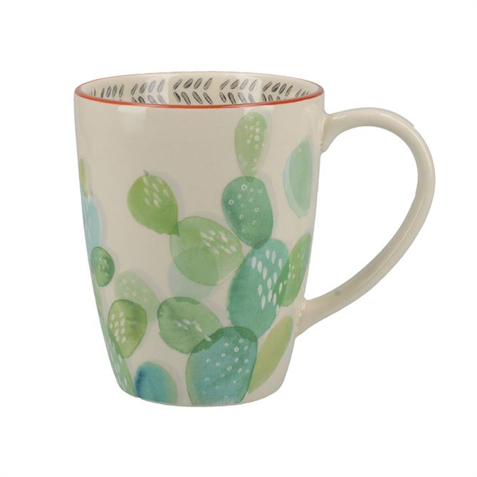 Creative Tops Drift Ceramic Mug: Cactus