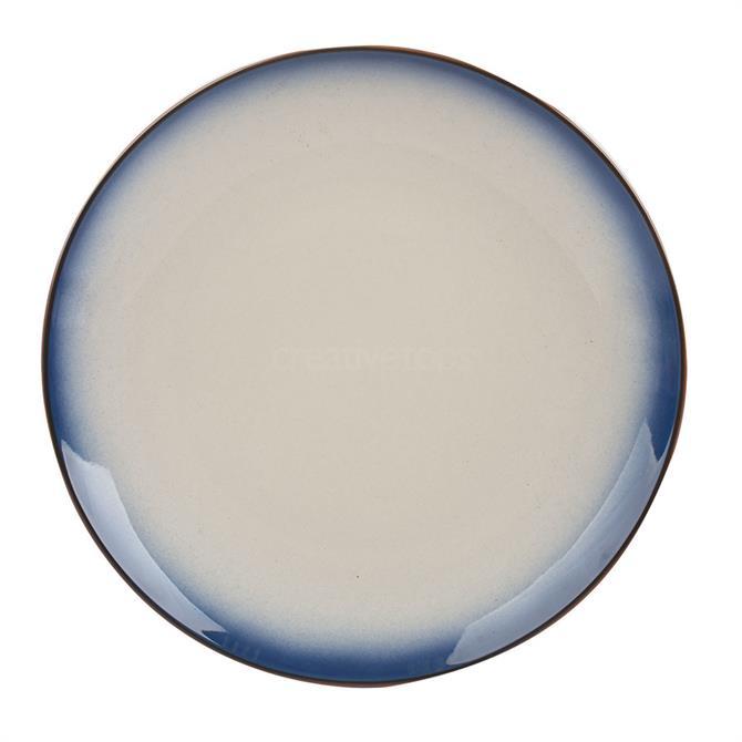 Creative Tops Dinner Ceramic Dinner Plate: Ombre