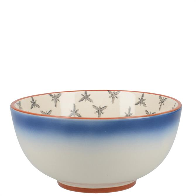Mikasa Drift Blue Ombre Cereal Bowl