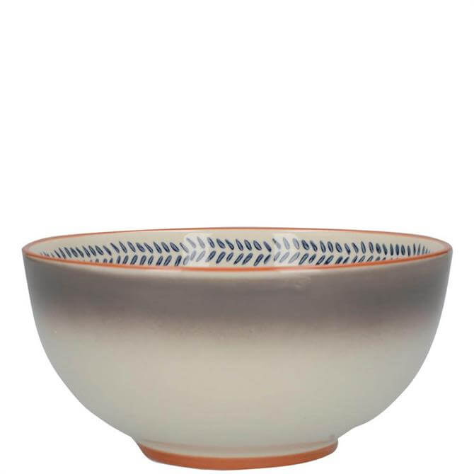 Mikasa Drift Grey Ombre Cereal Bowl