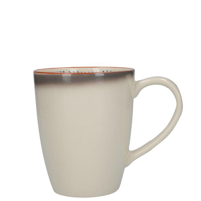 Mikasa Drift Bullet Ombre Grey Mug