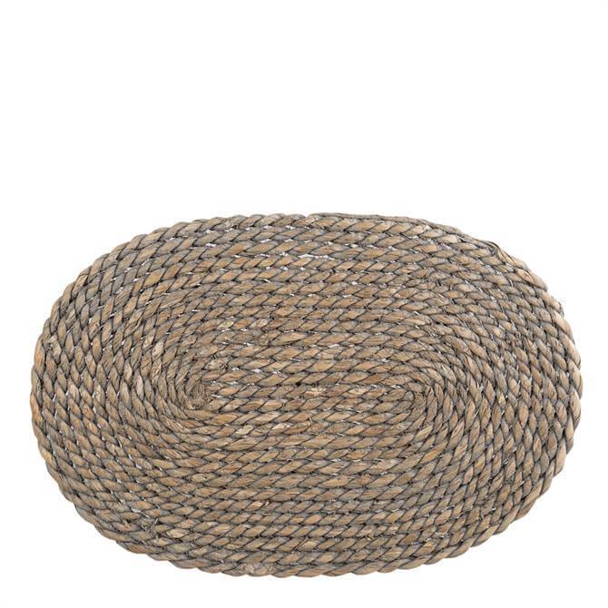 Creative Tops Naturals Greywash Oval Serve Mat
