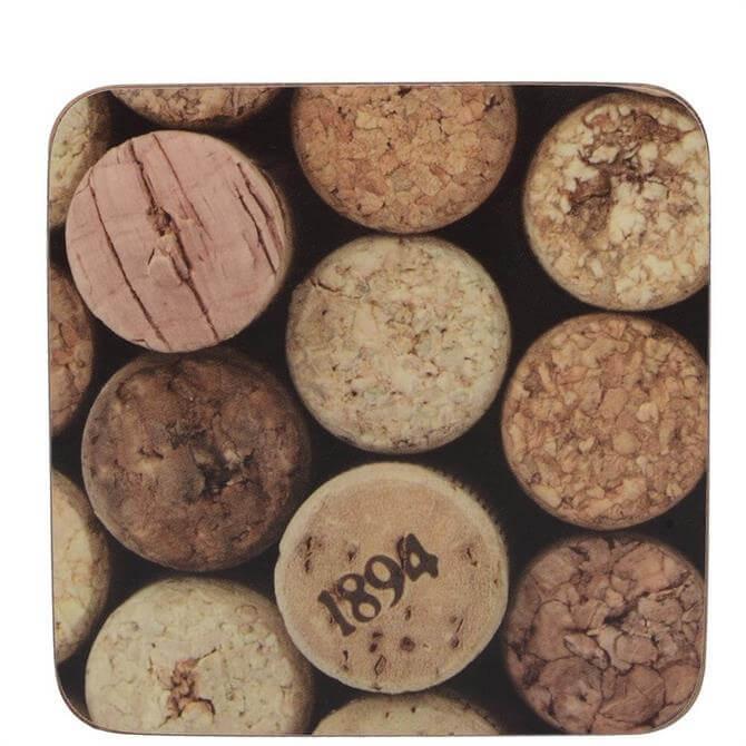 Creative Tops Cork Pack of 6 Premium Coasters